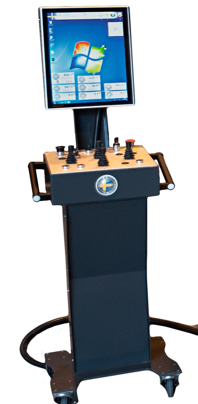 Swebend Seven CNC Control Panel