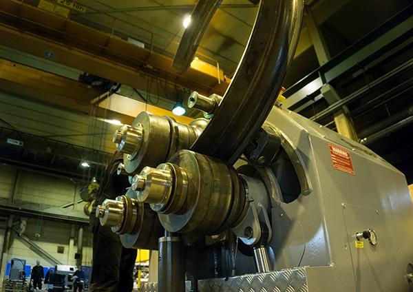 SweBend SB3 Section Bending Machine