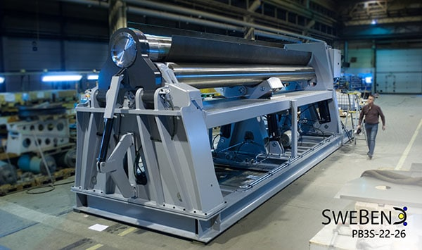 Swebend PB3S Plate Bending Machine