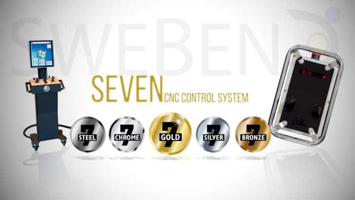 SweBend Seven CNC system