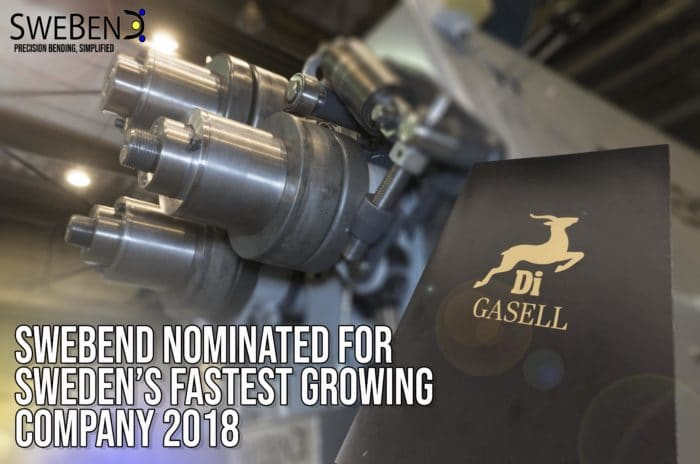 SweBend nomination Gasell 2018-