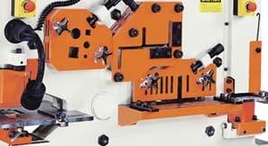 Sunrise IW-60H Single Cylinder Ironworker